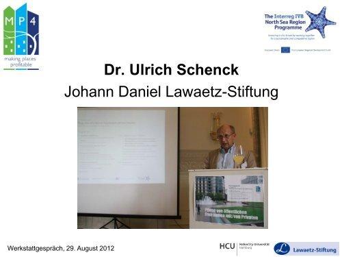 MP4 Stakeholder Workshop Hamburg 29-08-2012 - Interreg IVB ...
