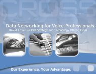 Data Networking for Voice Professionals
