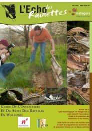 Guide de l'inventaire et du suivi des reptiles en Wallonie - Natagora