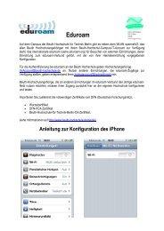 iPhone - Beuth Hochschule für Technik Berlin