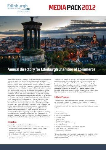 MEDIA PACK2012 - The Edinburgh Chamber of Commerce