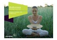 BioBusiness - Novozymes