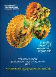 Agenda Mato Grosso do Trabalho Decente - OIT