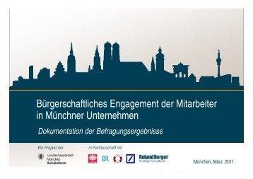 Studie, PDF - Unternehmen für München