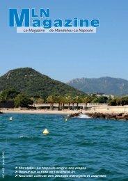 MLN Magazine - Juin 2011 - Mandelieu La Napoule
