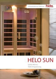 Serie HELO SUN - Knüllwald Sauna