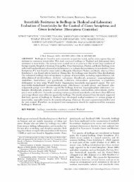 Insecticide Resistance in Bedbugs in Thailand and Laboratory ...