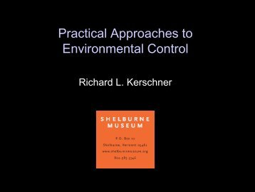 Practical Approaches to Environmental Control - Delaware Division ...
