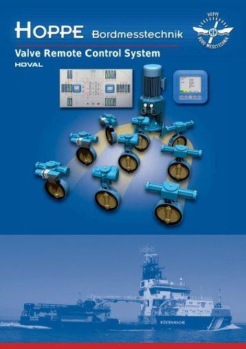 Valve Remote Control System