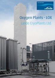 Oxygen Plants - LOX - Linde-India