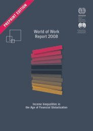 World of Work Report 2008 - Nord-Süd-Netz