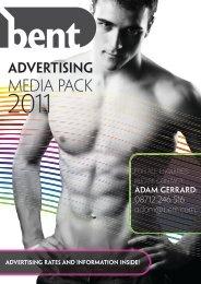 Media Pack - Bent Magazine