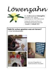 Die Kindergartenzeitung des evangelischen Familienzentrums ...