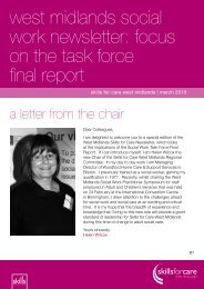 west midlands social work newsletter - Stoke-on-Trent City Council