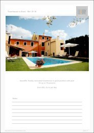 Townhouse in Alaró - Ref. 01-10 - Luxury Holidayhomes on Mallorca