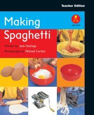 Making Spaghetti Making Spaghetti