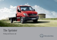 The Sprinter - Mercedes-Benz