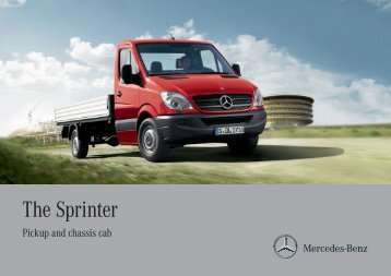 The Sprinter   Mercedes Benz