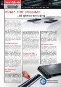 | KLEBE-INFO | SOLAR-HALTERUNGEN ... - Esomatic.de - Seite 3