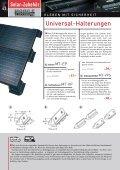 | KLEBE-INFO | SOLAR-HALTERUNGEN ... - Esomatic.de - Seite 5