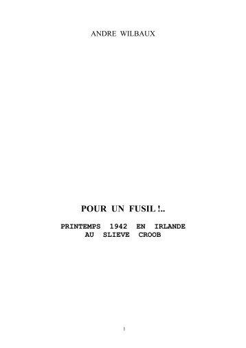 III B a pour un fusil - André Wilbaux