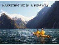 Marketing update presentation, June 2011 - Tourism New Zealand