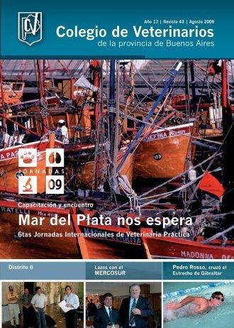 Mar del Plata nos espera Colegio de Veterinarios