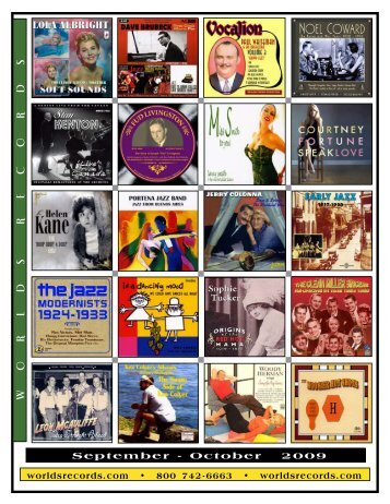 September - October 2009 - Worlds Records