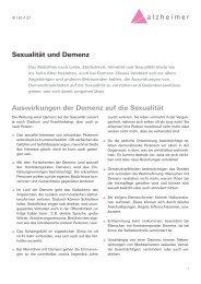 Sexualität und Demenz - Schweizerische Alzheimervereinigung Uri ...