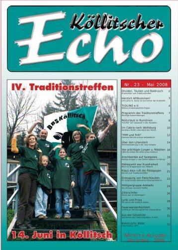 Nr. 23 - Mai 2008 - BBS Köllitsch eV