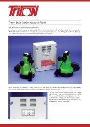 Dual Assist Control Panel Data Sheet Download