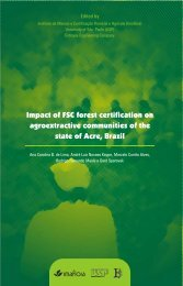 Impact of FSC forest certification on agroextractive communities of ...