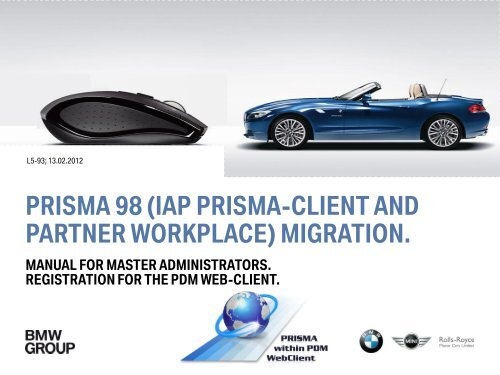 Folie 1 - Browser-Settings Test for the BMW Group Partner Portal