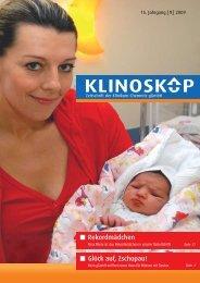 Klinoskop Nr. 1/2009 ( 2.6 MB im PDF - Klinikum Chemnitz
