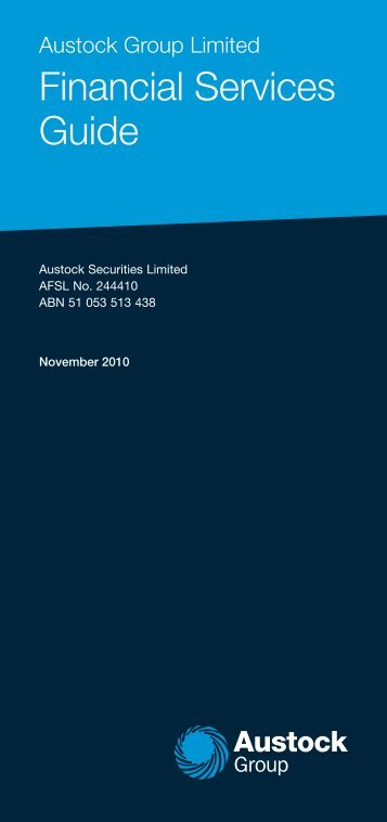 Financial Services Guide - Austock Group