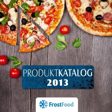 Katalog herunterladen - FrostFood
