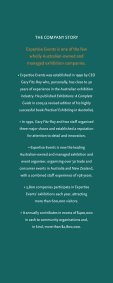 Expertise Events is embarking on a major relaunch of its company ... - Page 4