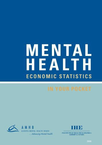 Mental Health In Your Pocket - Institute of Health Economics