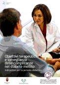 Obiettivi terapeutici e sorveglianza delle complicanze del diabete ... - Page 3