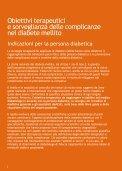 Obiettivi terapeutici e sorveglianza delle complicanze del diabete ... - Page 6