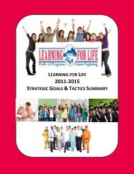 2011-2015 Strategic Plan