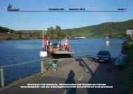 Oktober 2013 - Arbeitsgemeinschaft Binnenfähren in Deutschland