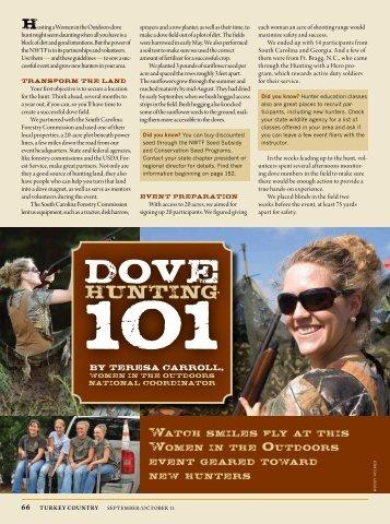 Dove Hunting 101 - National Wild Turkey Federation