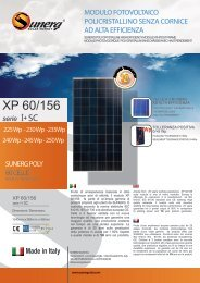 Download Scheda Tecnica XP 60/156 I+SC - Sunerg