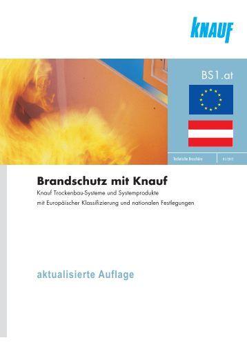 Brandschutz mit Knauf - Knauf Österreich