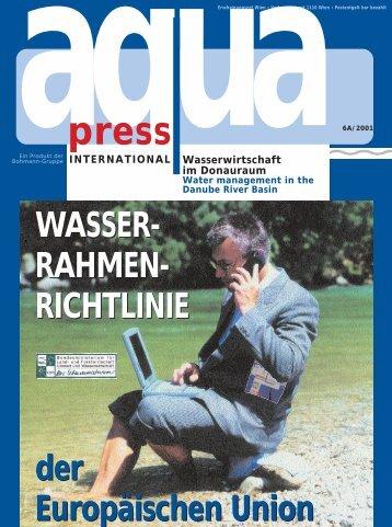 Sonderausgabe WRRL - AquaPress Magazin
