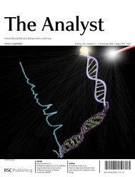 Interdisciplinary detection science - Laboratory for Bioanalytical ...