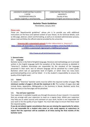 Fau dissertation guidelines