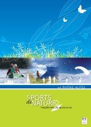 SPORTS NATURE - (DRJSCS) Rhône-Alpes