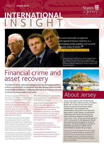 International Insight newsletter issue 1 (2010) (5 mb) - States of Jersey